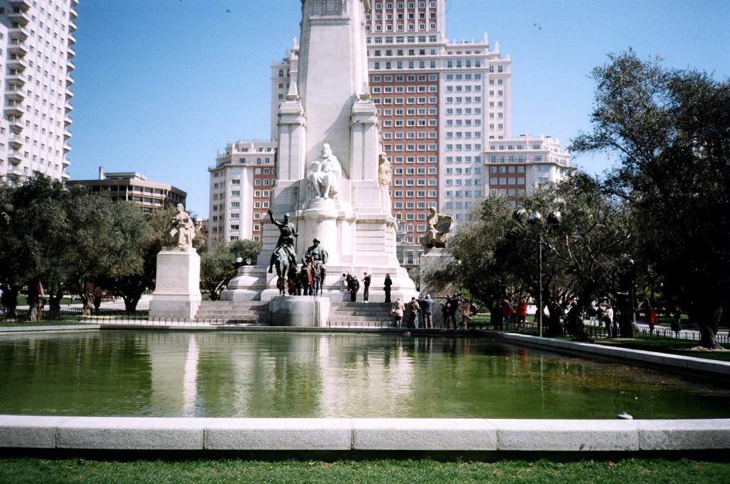 İspanya Meydanı Madrit