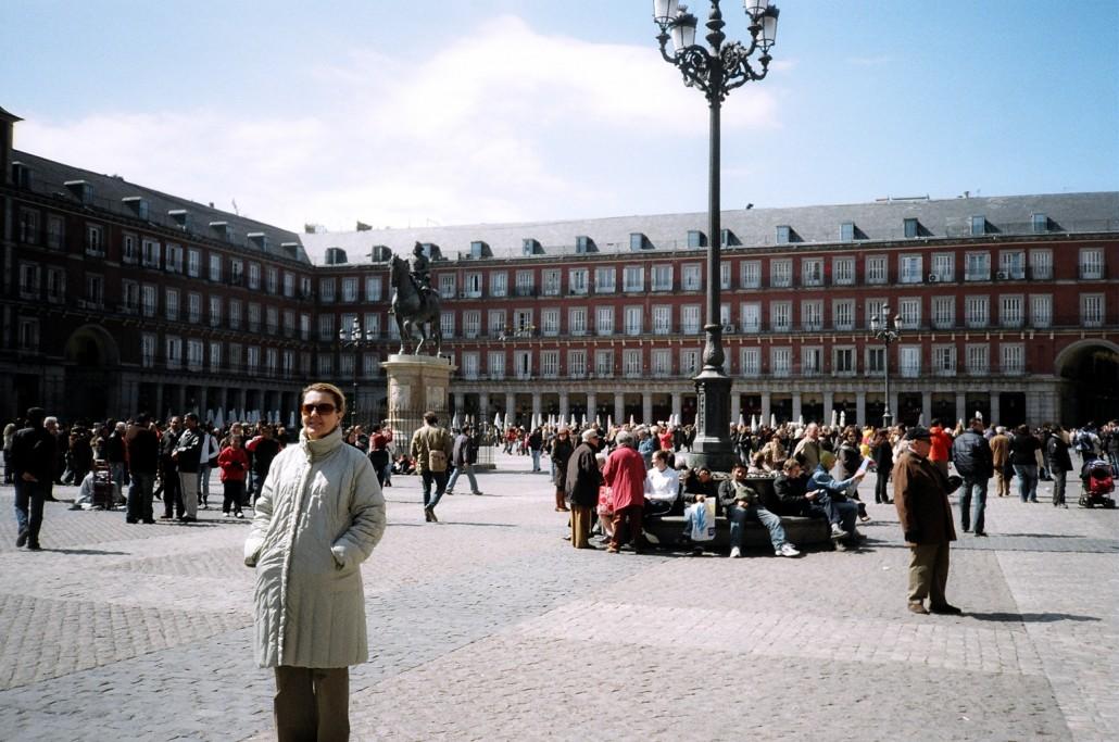 Mayor Meydanı Madrit İspanya