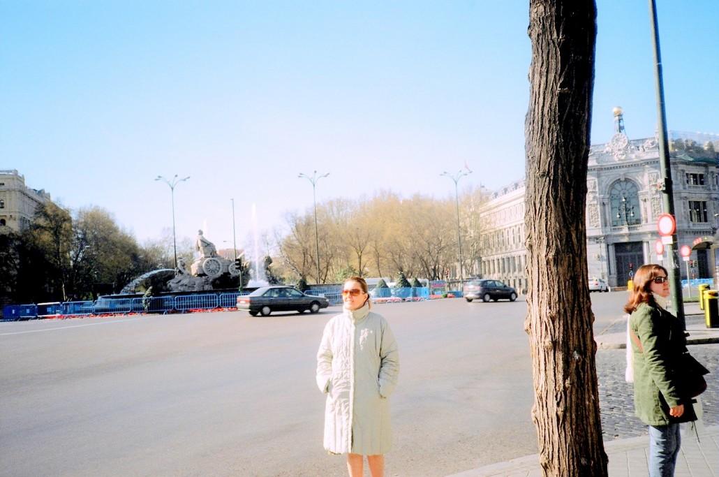 Kibele Meydanı Madrit İspanya