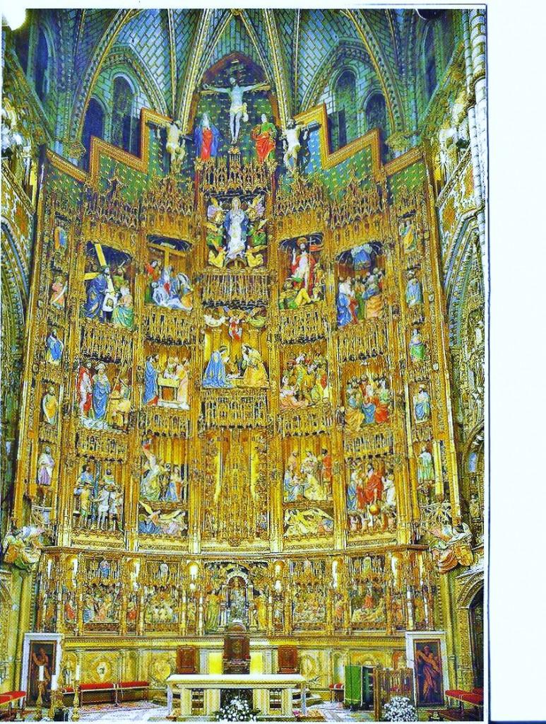 Toledo Katedrali süslemeleri