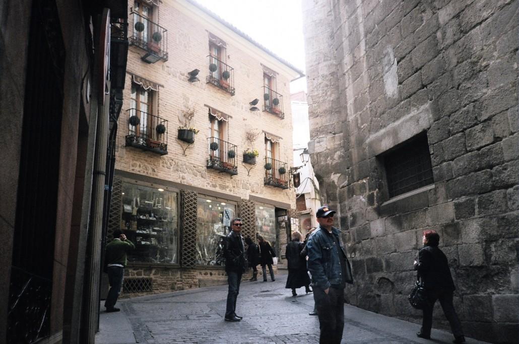 Toledo sokakları