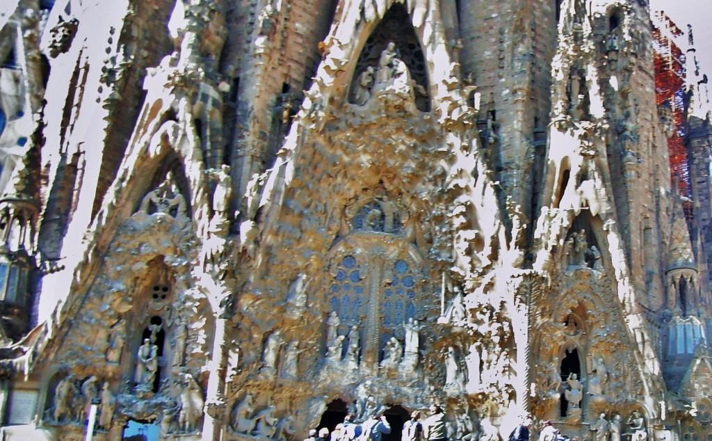 Sagrada Familia Doğum Cephesi