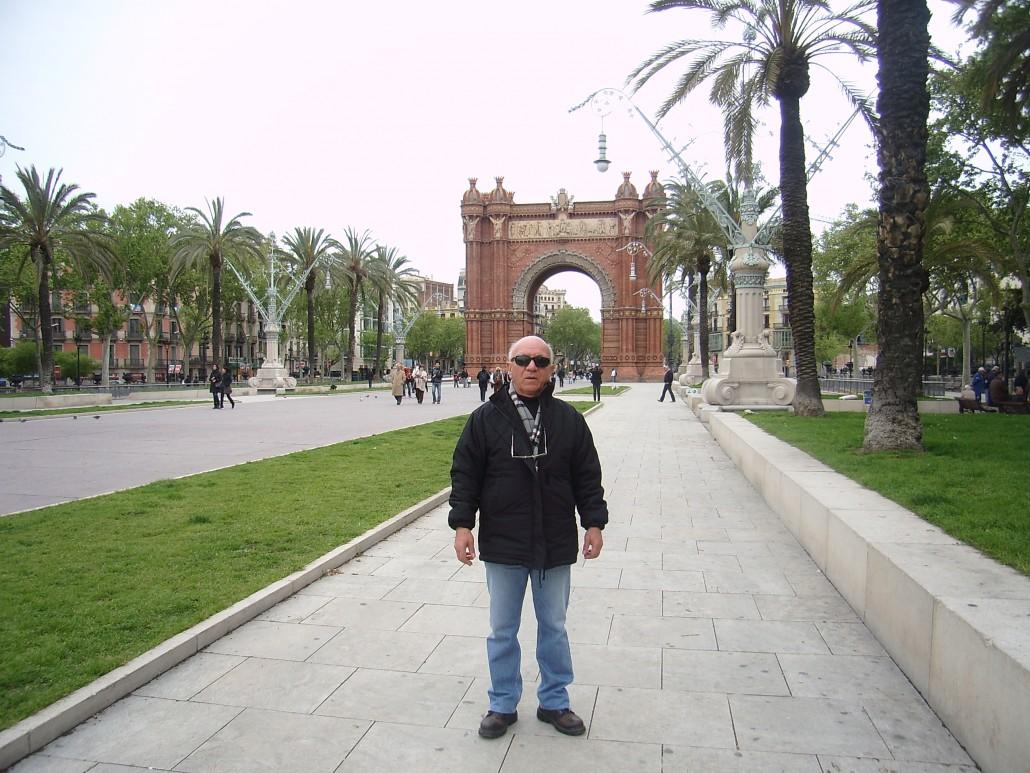 Barselona Passeig de Lluís Companys
