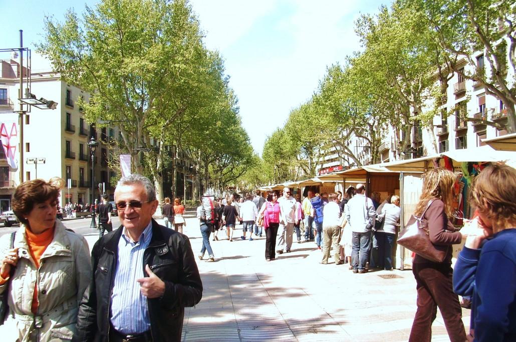 Las Rambla Barselona