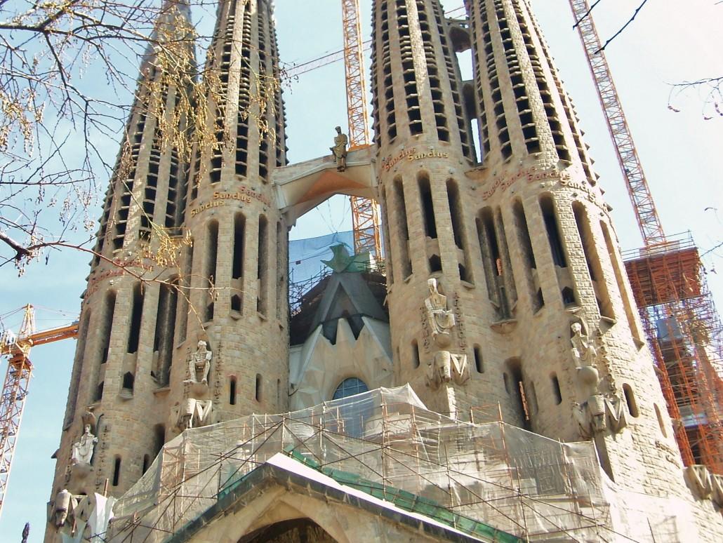 Sagrada Familia Barselona İspanya