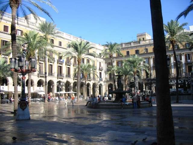 Barselona Plaça Reial