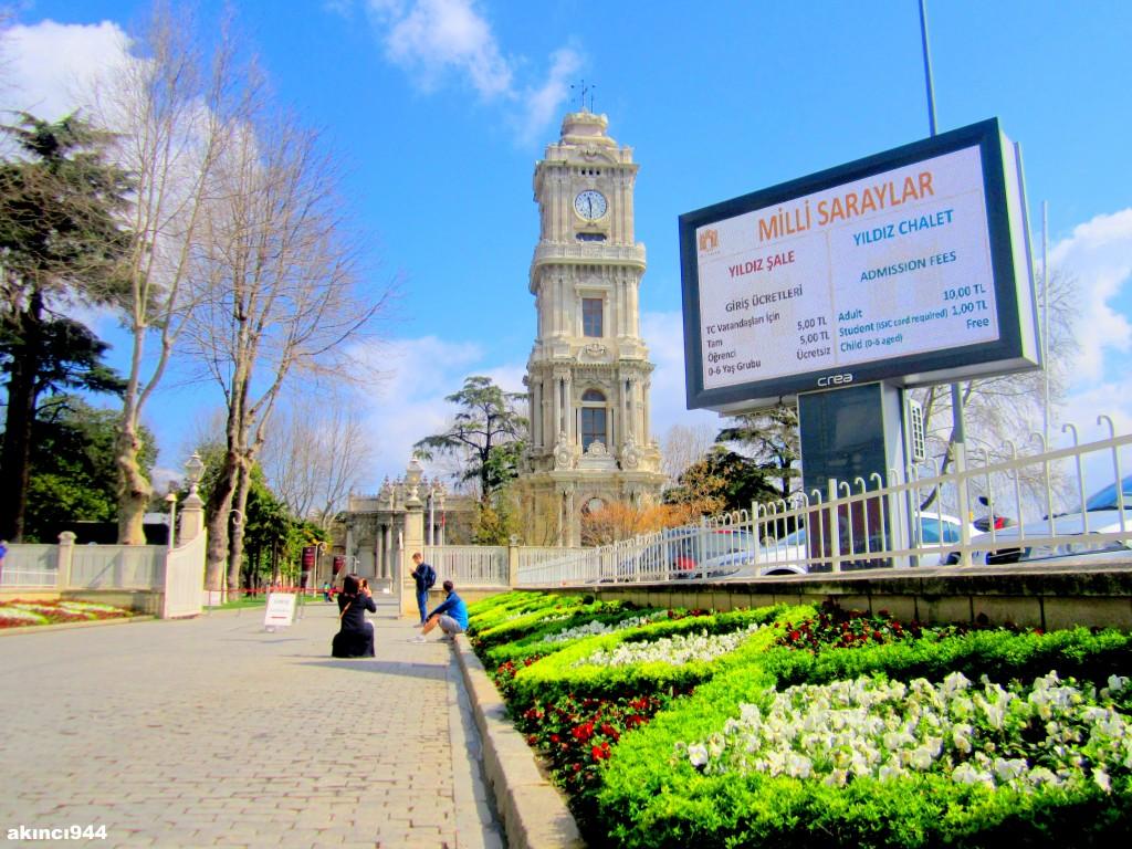 Dolmabahçe Sarayı Saat Kulesi