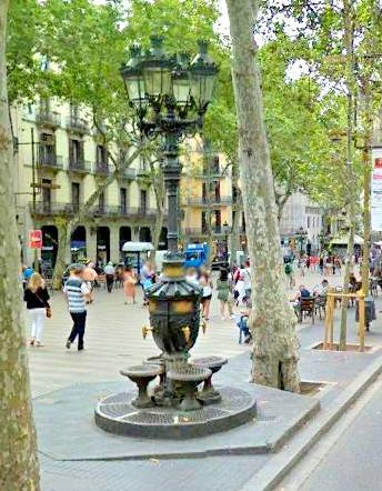 Font de Canaletes Barselona