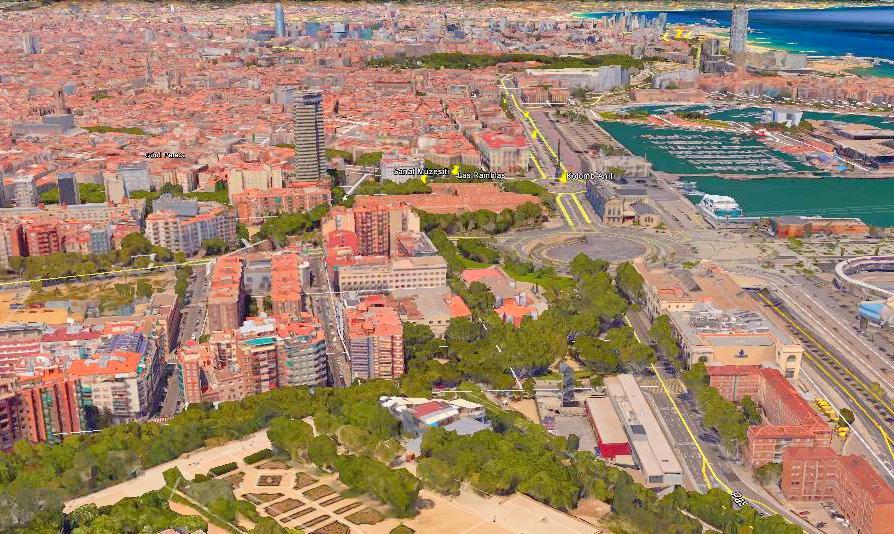 Montjuic Barselona
