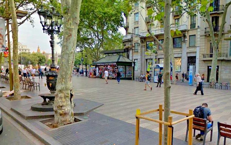 Font de Canateles La Lambra Barselona