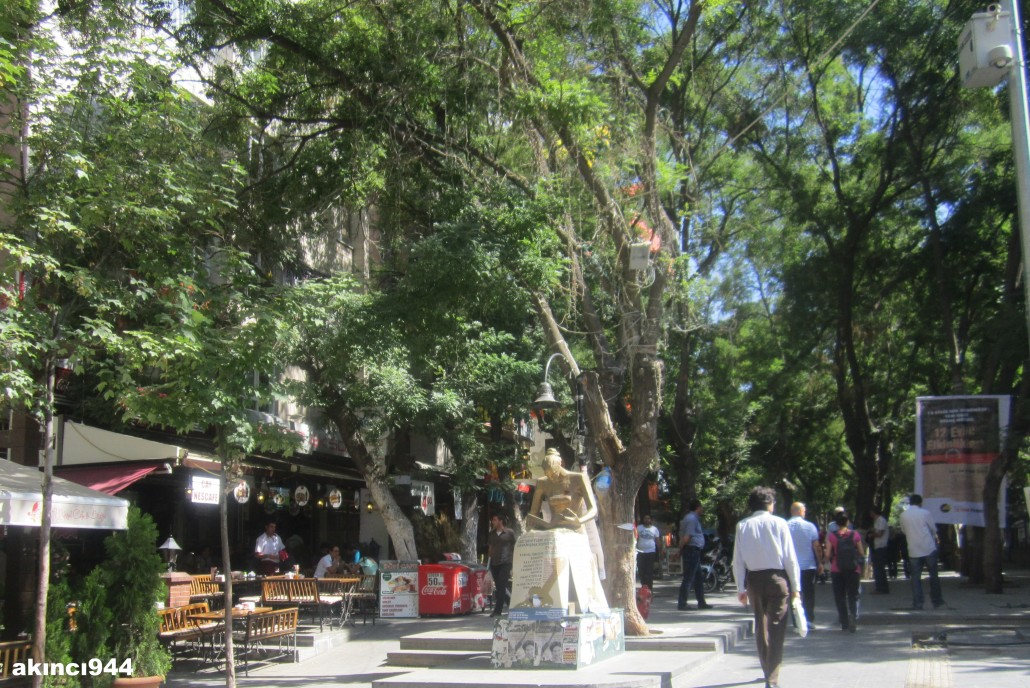Ankara Yüksel Caddesi bölgesi