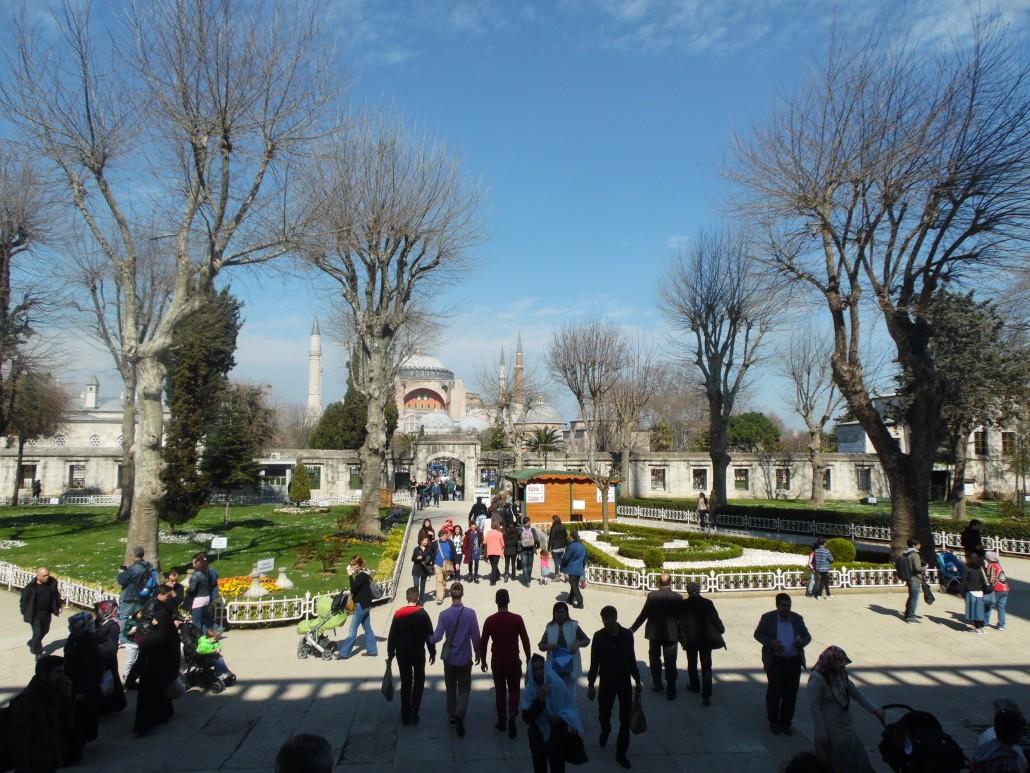 Sultanahmet Camisi'nden Ayasofya