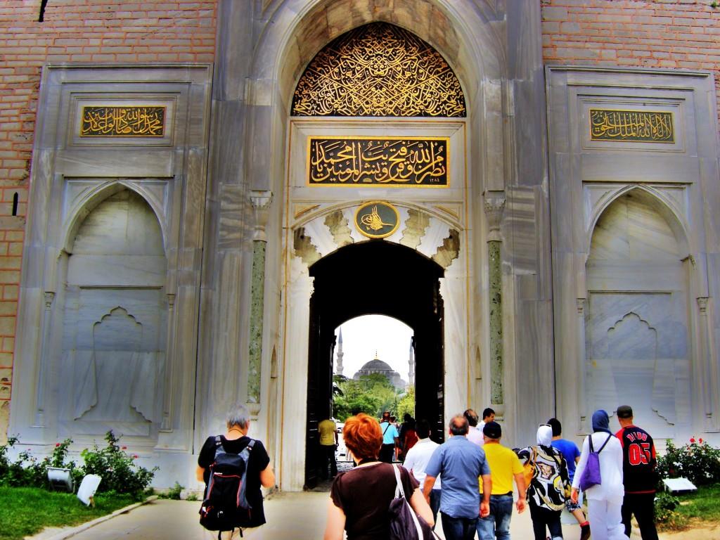 Bab-ı Hümayun-Saltanat Kapısı