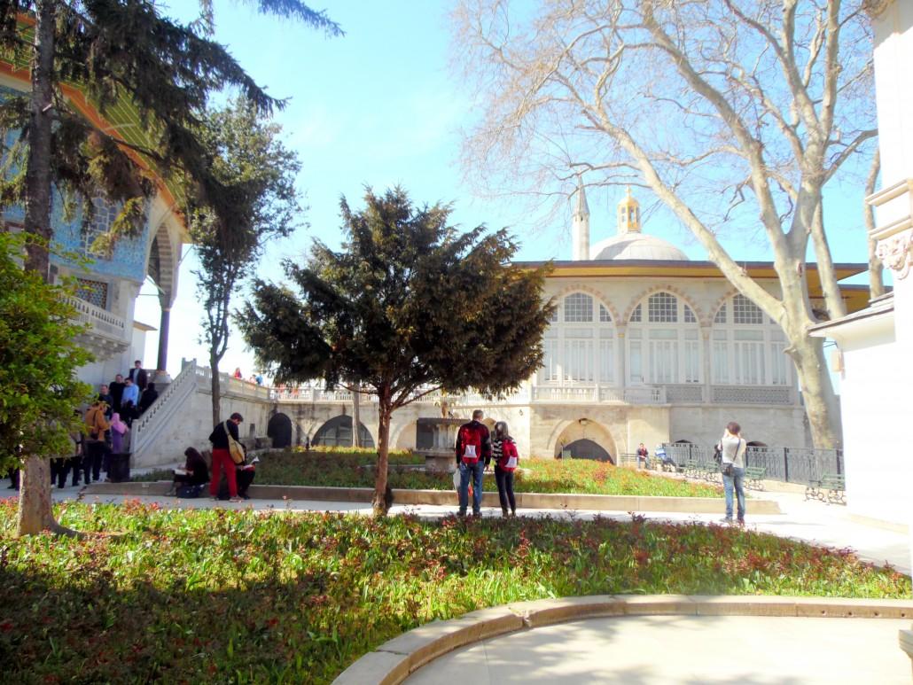 Topkapı Sarayı Padişahlar Avlusu-Sofa-i Hümayun