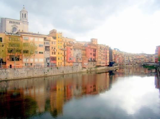 Onyar Nehri Girano İspanya