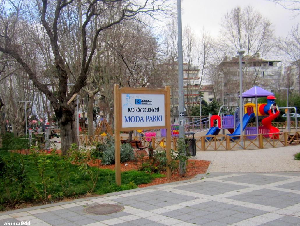 Moda Parkı Kadıköy İstanbul