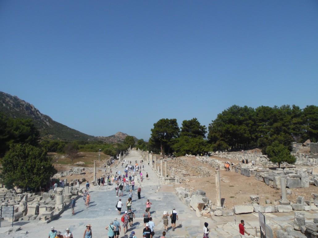 Efes Antik Kenti Liman Caddesi