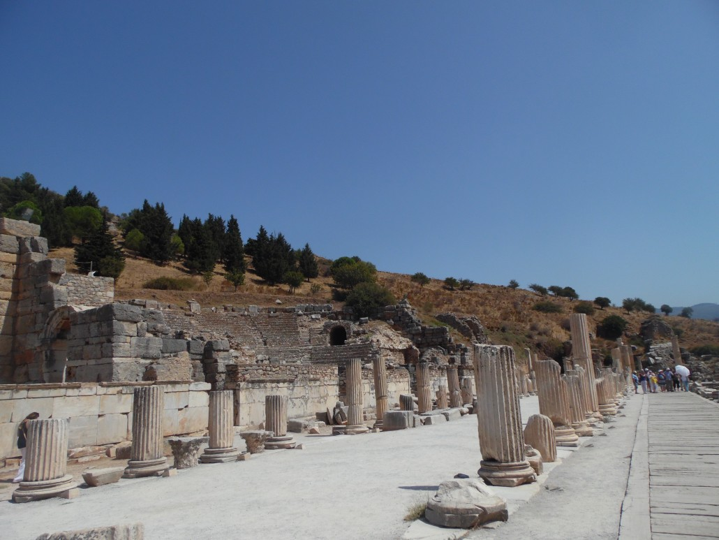 Efes Antik Kenti Devlet Agorası