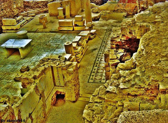 Efes Antik Kenti Yamaç Evleri
