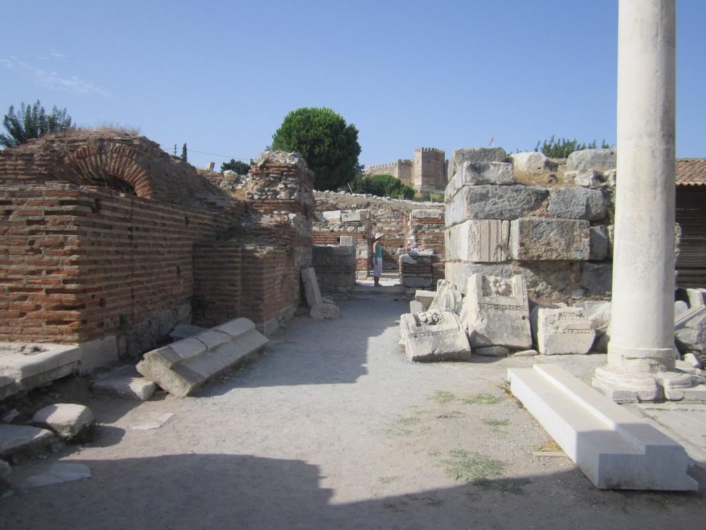 St. John Bazilikası Selçuk İzmir
