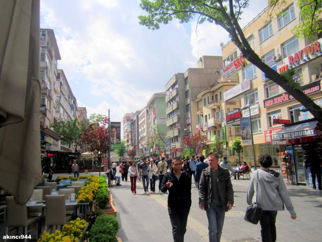 Karanfil Sokak Kızılay Ankara