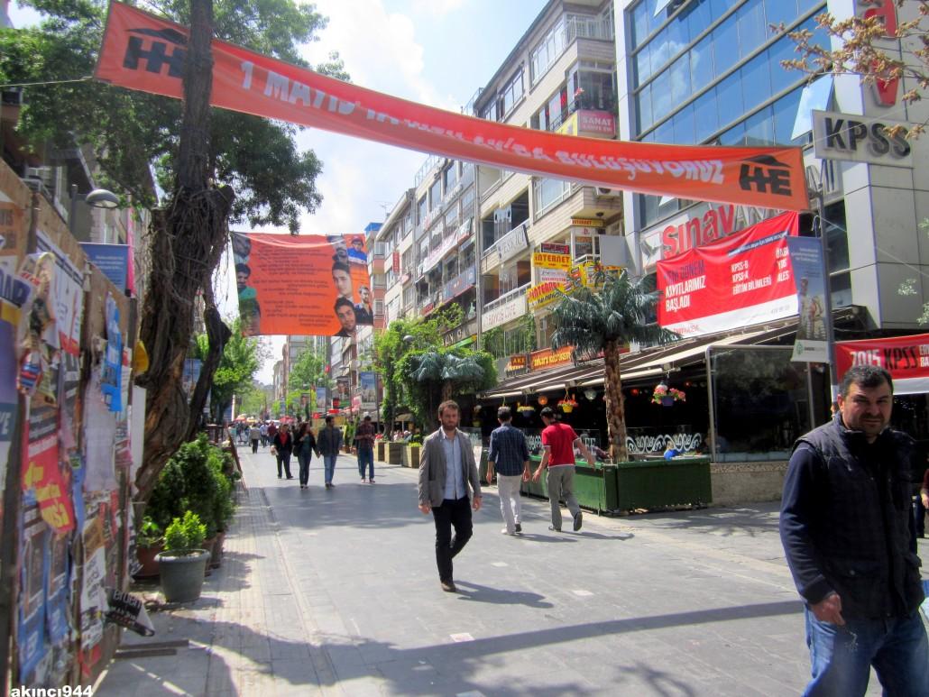 Konur Sokak Kızılay Ankara