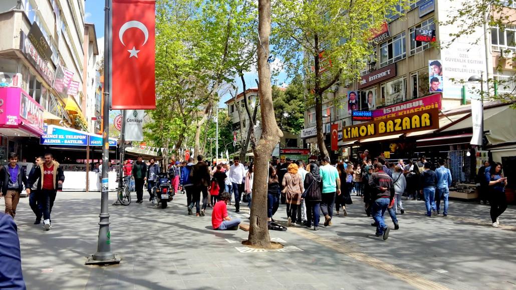 Yüksel Caddesi Kızılay Ankara
