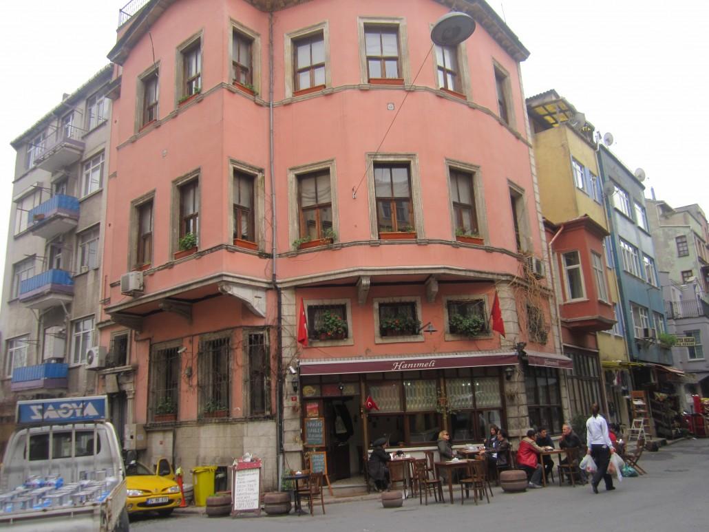 Antik Balat sokakları