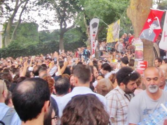 Taksim Gezi Parkı İzlenimleri (7)