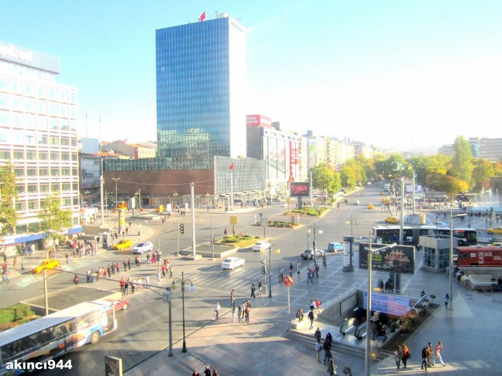 Ankara Kızılay Meydanı Emek İşhanı gökdeleni