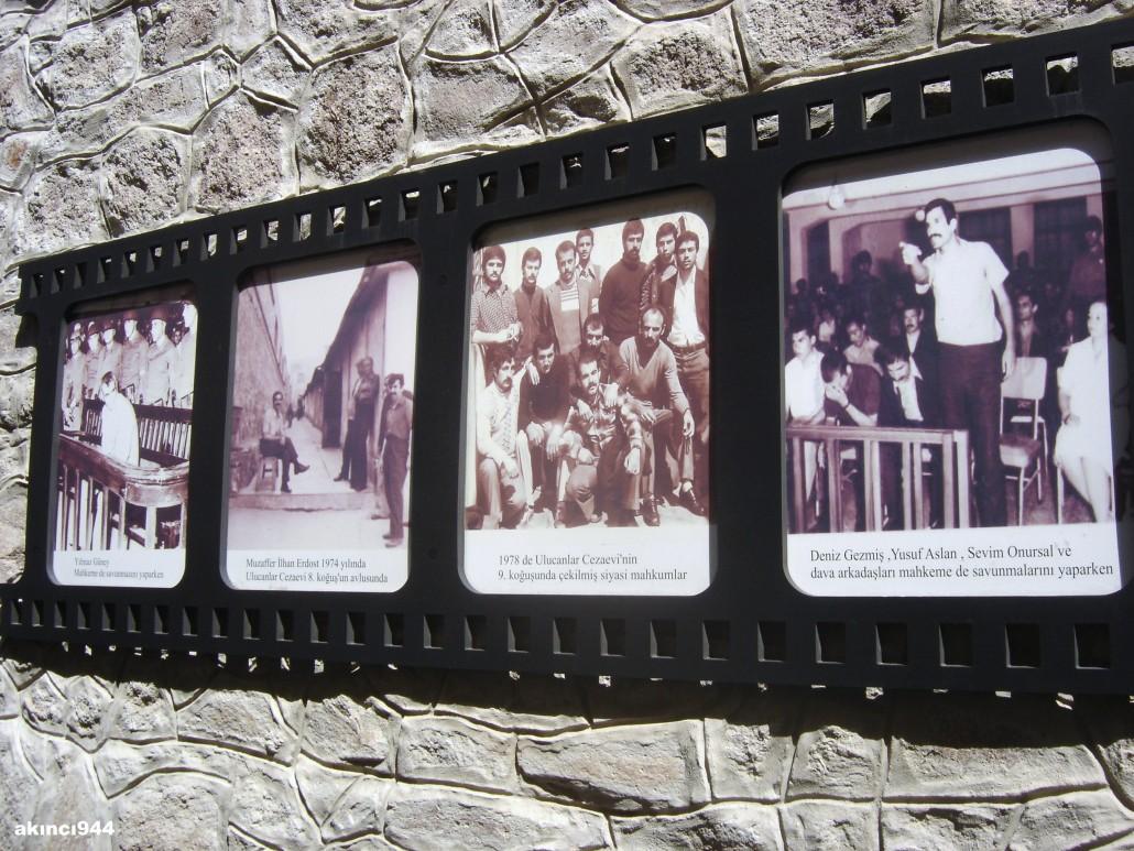 Yılmaz Güney-Muzaffer İlhan Erdost-siyasi mahkumlar-Deniz Gezmiş, Yusuf Aslan, Sevim Onursal ve dava arkadaşları