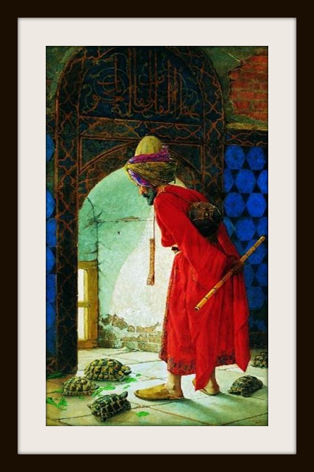 Kaplumbağa Terbiyecisi-Osman Hamdi Bey-Pera Müzesi