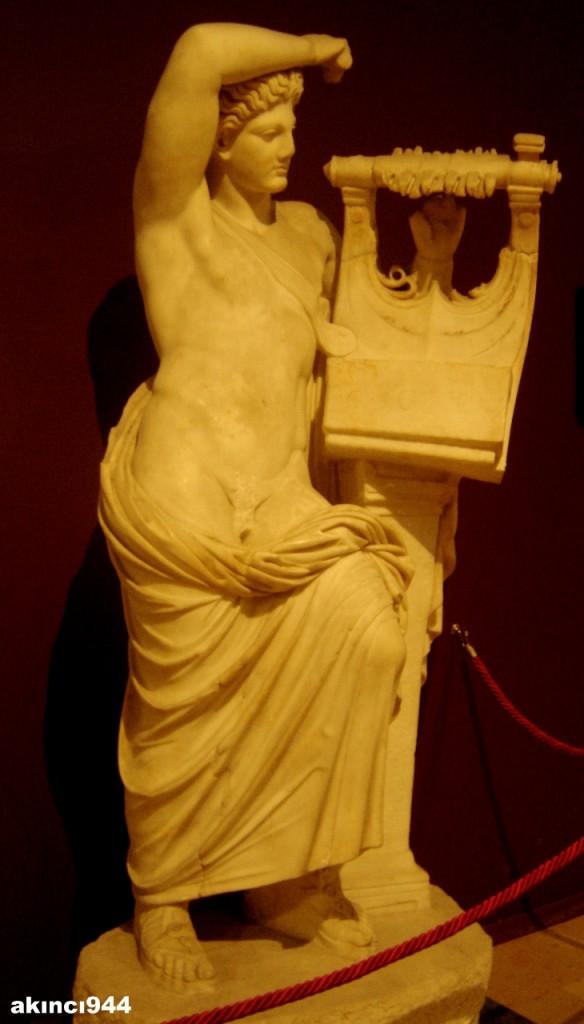 Miletos Faustina Hamamları Heykel grubu