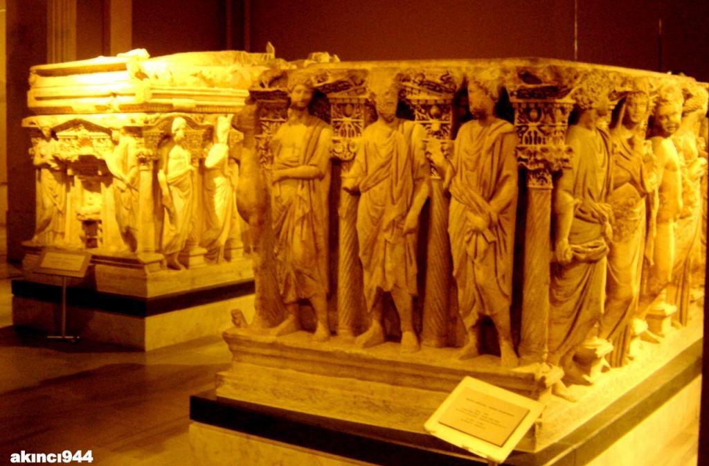 Sidamara tipinde lahid (Silifke Roma dönemi)