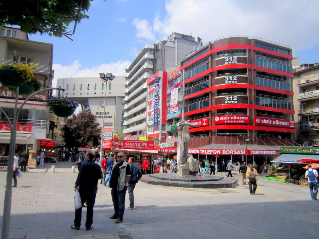 Sakarya Caddesi Kızılay
