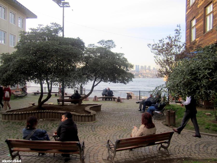 Çınar altı Kuzguncuk Üsküdar İstanbul