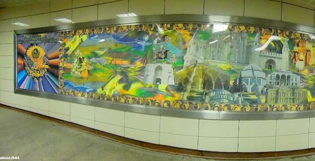 Metro Şişhane Sanat Panoları