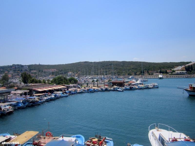 Çeşme Yarımadası Seferihisar Sığacık Teos Körfezi