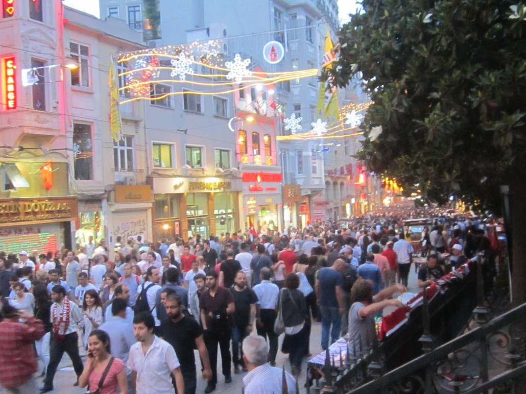 İstanbul  İstiklal Caddesi