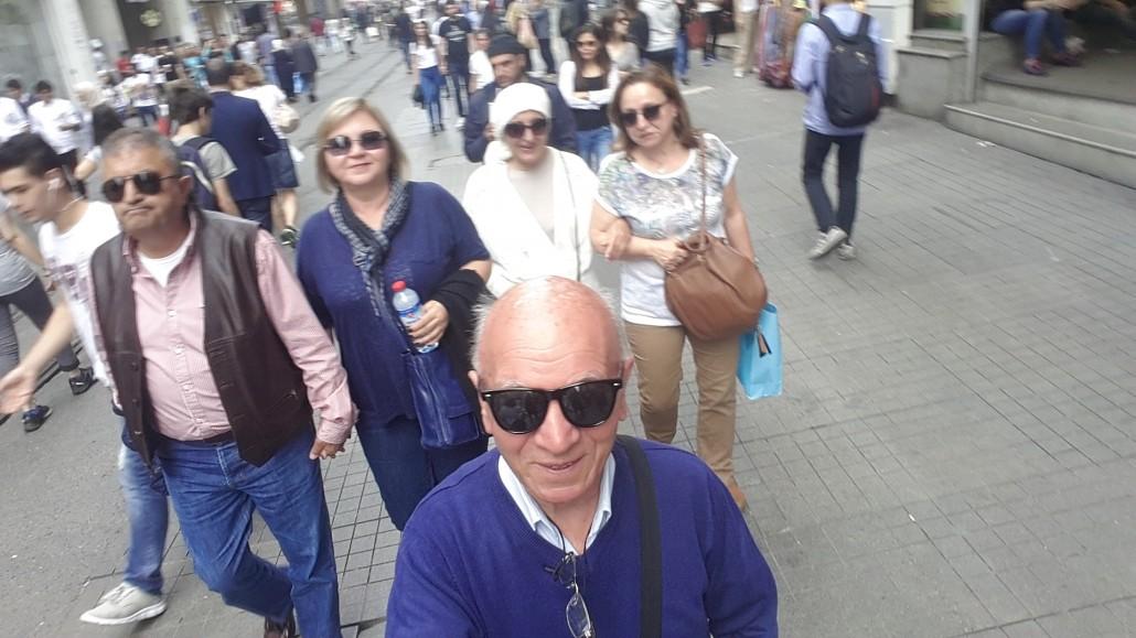 Beyoğlu İstiklal Caddesi İstanbul