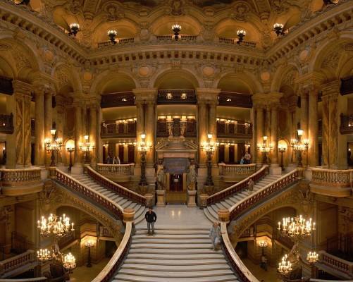 Opera Garnier-Büyük Merdiven (alıntı)