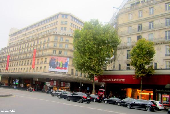 Paris Anıları-Lafayette Homme