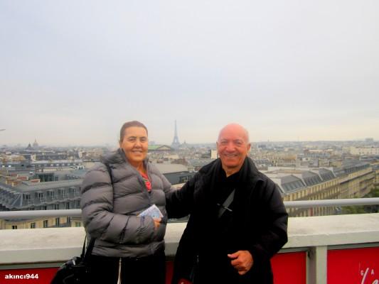 Paris Haussman Bulvarı çevresi