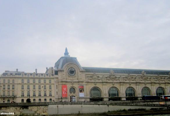Seine Nehri Paris-Orsay Müzesi