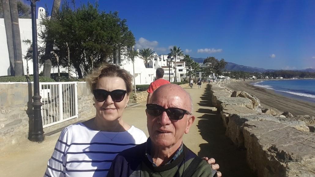 Marbella Costa del Sol kıyıları