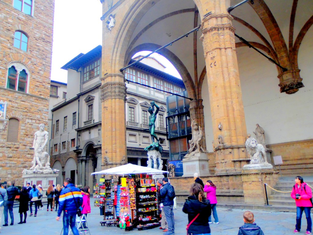 Medusa'nın başının kesilmesi Floransa