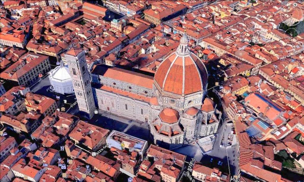 Cattedrale di Santa Maria del Fiore ( Google )