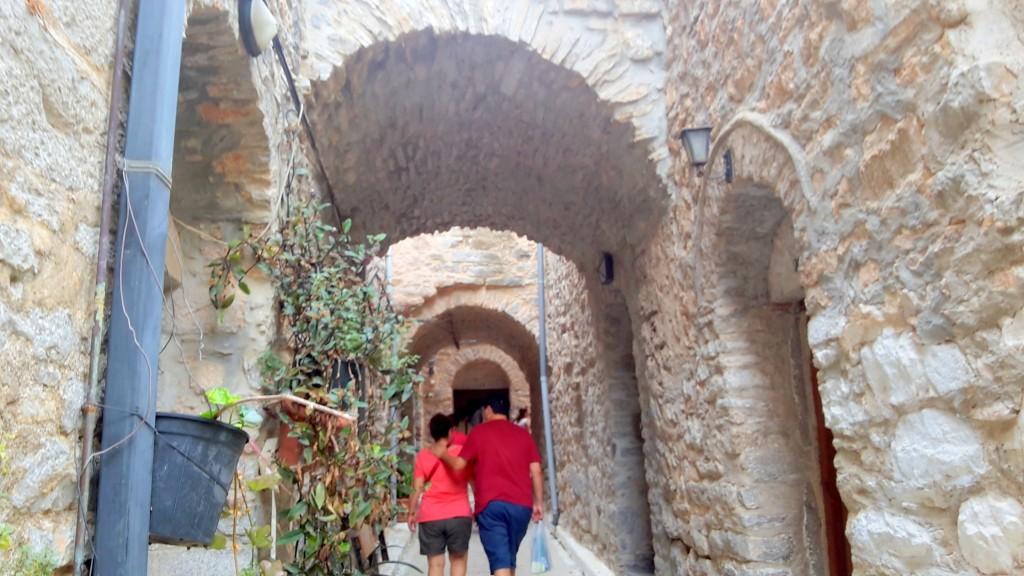 Mesta-Sakız Adası Yunanistan