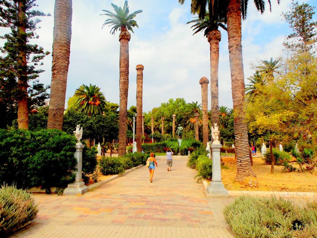 Chios-Sakız Adası Halk Bahçesi