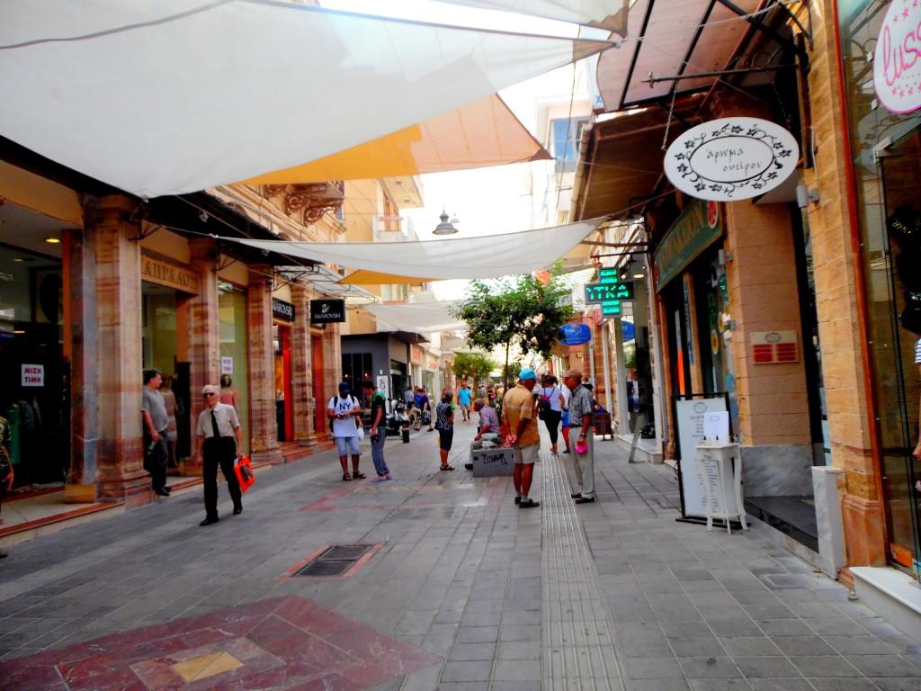Chios Yunanistan-Aplotarias Caddesi
